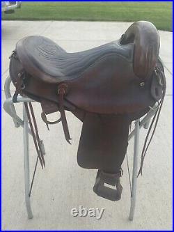 16 Circle A Endurance Saddle