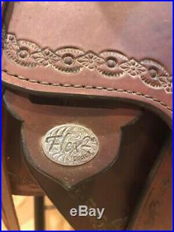 16 Circle Y Cottonwood Trail Saddle Extra Wide