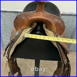 16 Circle Y Equitation Saddle