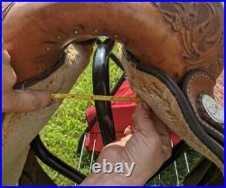 16 Circle Y Equitation Western Show Saddle