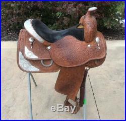 16 Circle Y Western Show Saddle