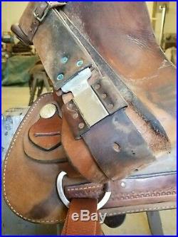 16 Dakota Roping Saddle, Never Roped