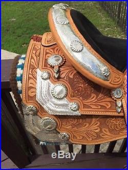 16 Dale Chavez Western Pleasure Saddle