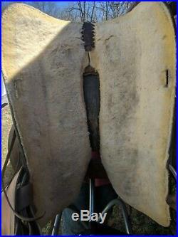 16 Hereford Tex Tan Western Saddle