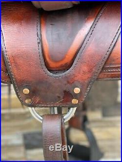 16 Hixon Gaited Saddle- Handmade, Quality, Western, Trail Saddle
