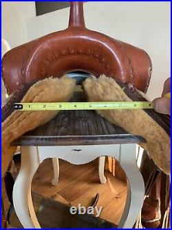 16 Original Billy Cook Western Trail Saddle, Sulphur, Oklahoma