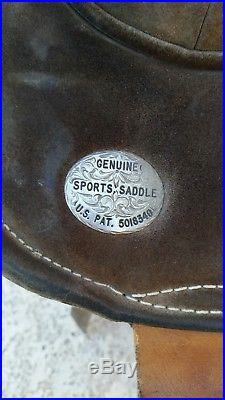 16 Original Bob Marshall Treeless Sports Saddle