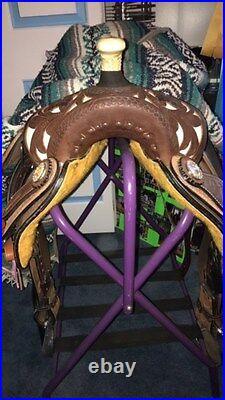 16'' Showman Barrel Saddle