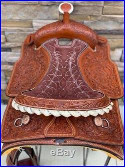 16 Silver Royal Maverick Calf Roper Saddle Roping Rodeo- All Around- New