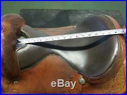 16 Tex Tan Western Saddle