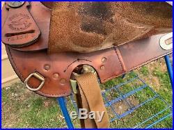 16 Used Simco Western Haflinger trail saddle US made