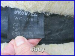 16'' Wintec all rounder black synthetic roughout western trail saddle FQH BARS