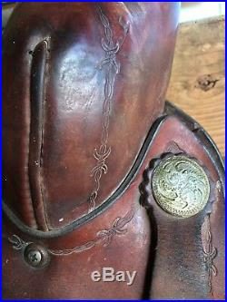 16 in Lamb Roping saddle