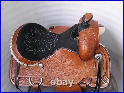 16''western ten color Roping Ranch Saddle