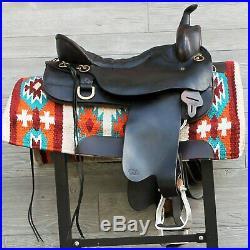 17.5 Tucker Cheyenne Trail Saddle