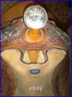 17 Billy Cook (SULFER, OK) Light Oil Eq/ Show Saddle / Pleasure