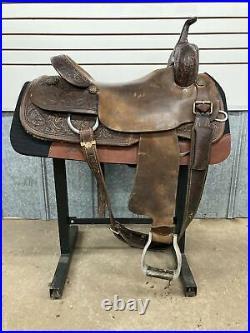 17 Bison Cutting Saddle