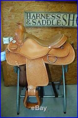 17 G. W. Crate Custom Reining / Cutting Saddle Free Shipping Made In Alabama USA