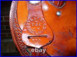 17 Used Nathan Lamb Western Saddle