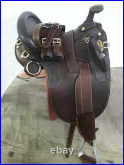 19 Australian Stock saddle full brown leather with full accessories