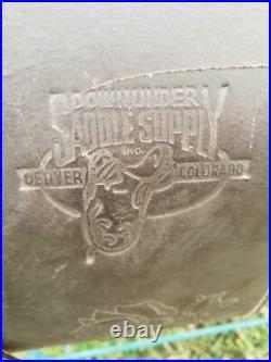 19 Used Australian Down Under Saddle 228-933