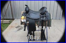 25-17 Brand new 17 King Series Blackwell hardseat saddle