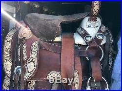 Albarda Montura Charra Side Saddle Silla Charra buena condición
