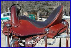 Allegany Mountain Renegade Endurance Trail Saddle 15 inch seat