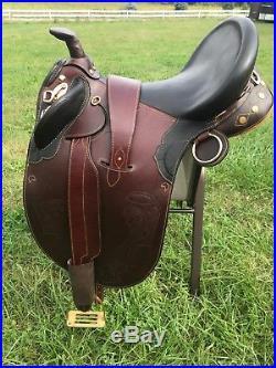 Australian Saddle 18 Wide Tree Draft/Broadback