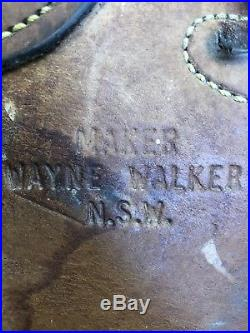 Australian saddle, Wayne Walker, maker, Really Nice. (endurance, no horn)