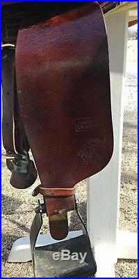 Australian stock saddle Darwin Drafter