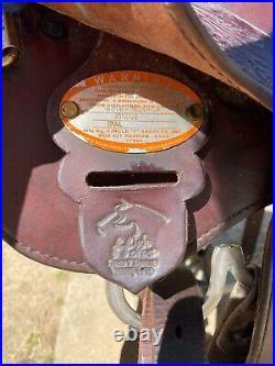 BEAUTIFUL Circle Y High Horse Long Branch Trail Saddle 16 Seat