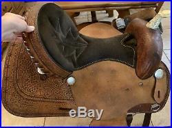 Barrel Saddle 15 Used