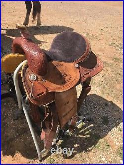 Barrel saddle corriente 14