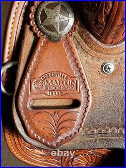 Beautiful Martin 15 Barrel Saddle