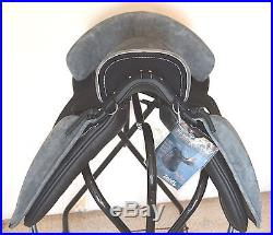 Beautiful Zaldi Bicolor Alta Escuela Saddle 33cm/wide, Andalusian Spanish Horse