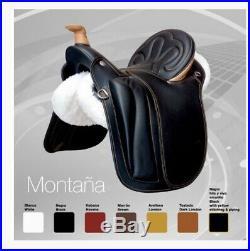 Beautiful Zaldi Montana Endurance Saddle, High Comfort