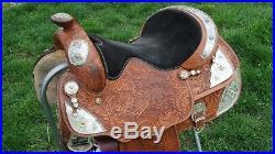 Big Horn Western Show Saddle