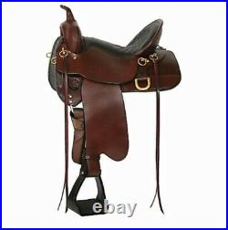 Big Springs High Horse Trail Saddle FQHB by Circle Y Excellent Condition