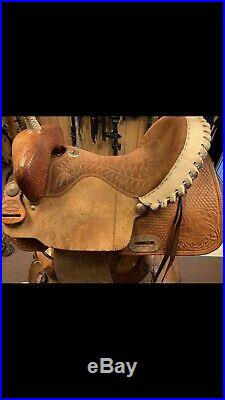 Billy Cook 15 Barrel Saddle Sulphur OK