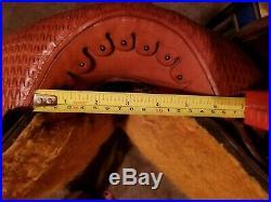 Billy Cook Barrel Saddle 16