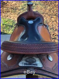 Billy Cook Pro Reiner Saddle
