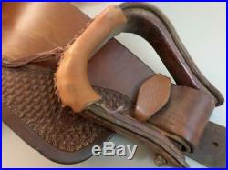 Billy Cook Trail Saddle 1536, 15 Seat, 14 Swell, 25 Skirt