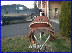 Billy Cook barrel saddle 15