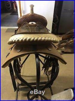 Billy Cook barrel saddle. MUST GO
