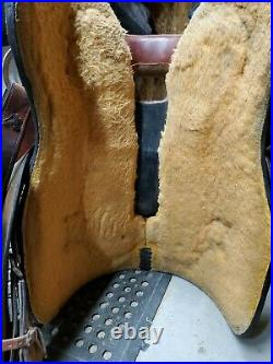 Billy Royal 16 Comfort Classic II Rough Out Work Saddle