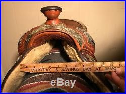 Billy Royal Limited Edition 16'' Show Saddle w New Dale Chavez Headstall Mayatex