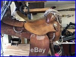 Billy cook saddle 16