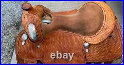 Blue Ribbon Trophy Show Saddle