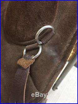 Bob Marshall Treeless Endurance Saddle